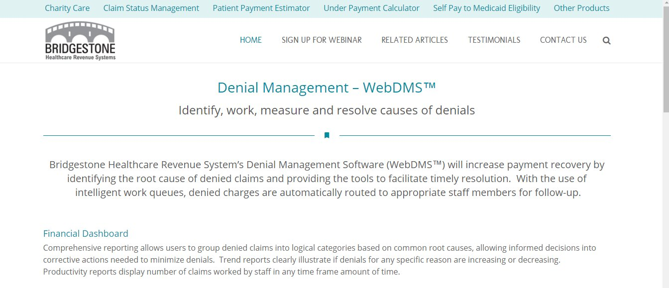 10 Essential Things To Know About Denials Management Software: