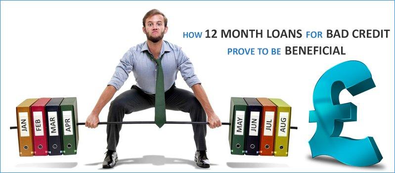 12 Month Loans For Bad Credit No Guarantor