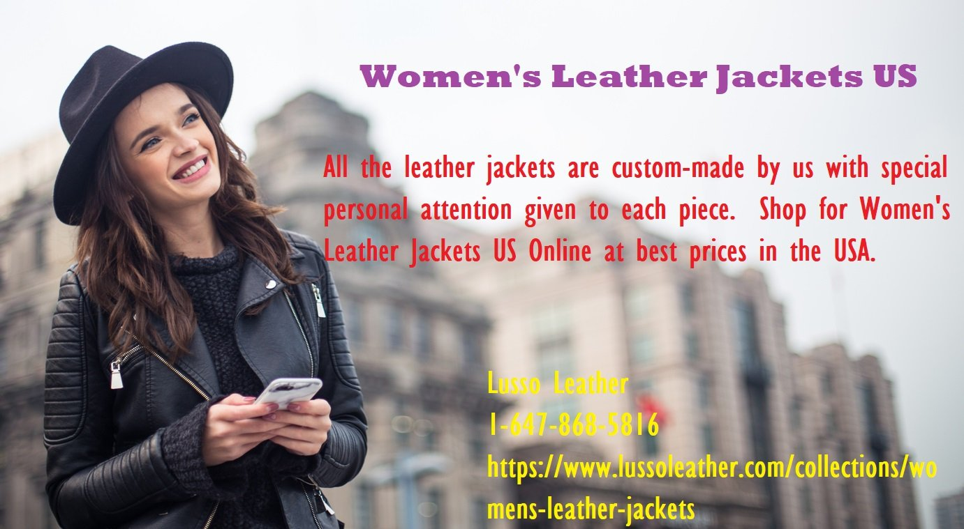 A Mini-Guide To Women's Leather Jackets US For Any Age!