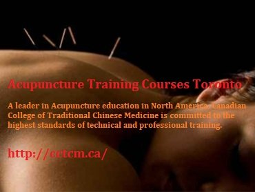 Acupuncture Training Courses Toronto