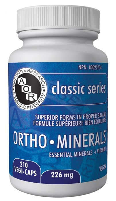 AOR Ortho Minerals: The Best Multimineral Formula