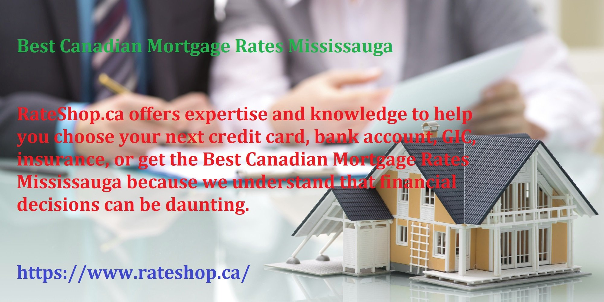 Best Canadian Mortgage Rates Mississauga