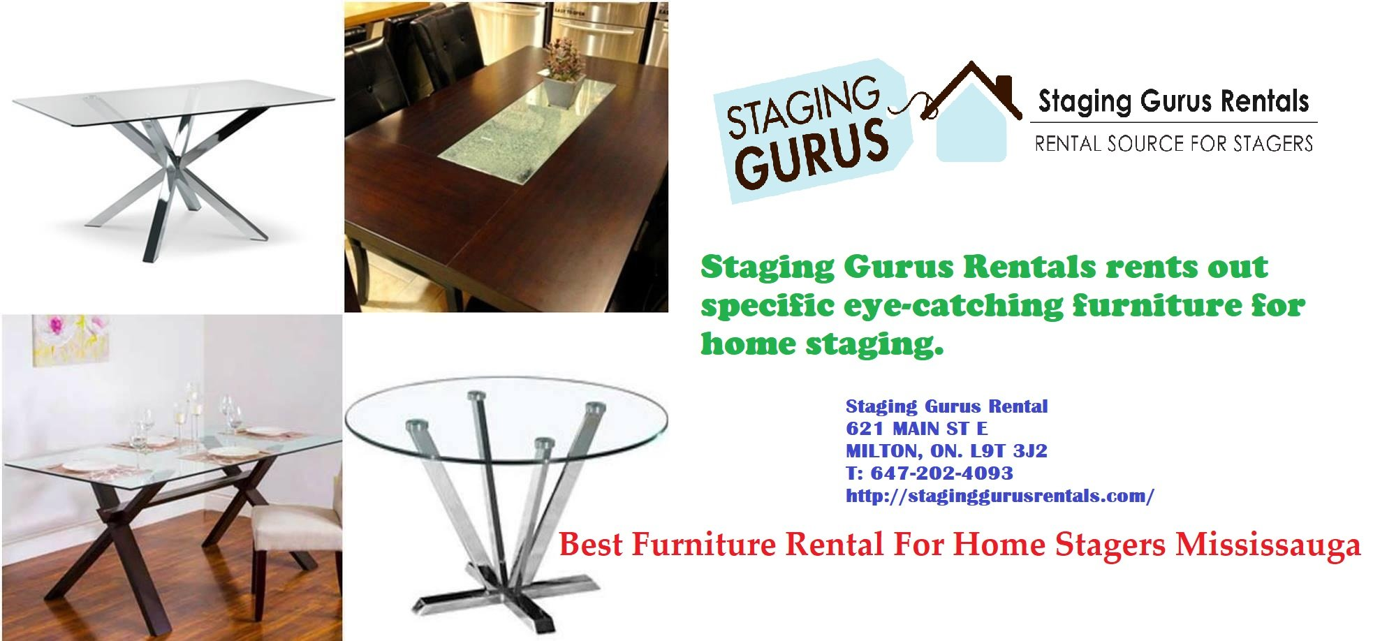 Best Furniture Rental For Home Stagers Mississauga
