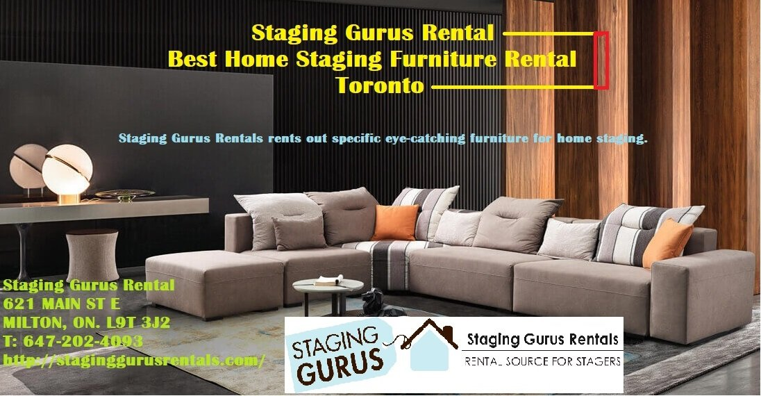Best Home Staging Furniture Rental Toronto
