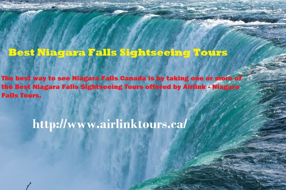 BEST NIAGARA FALLS SIGHTSEEING TOURS