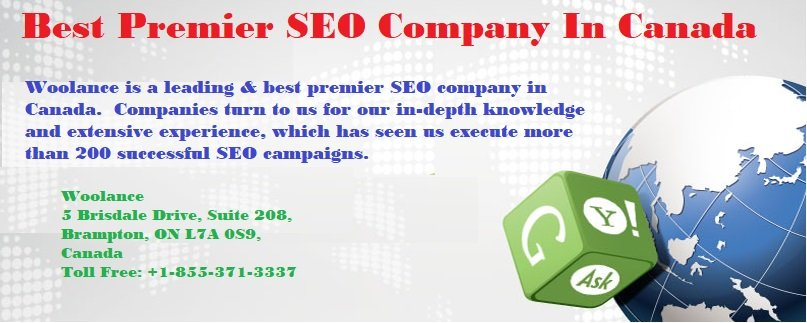 Best Premier SEO Company In Canada