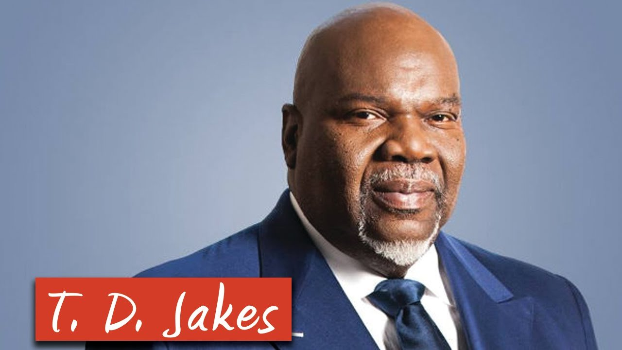 Book Your Tickets For Td Jakes Sermons