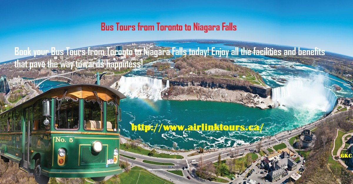 Bus Tours From Toronto To Niagara Falls