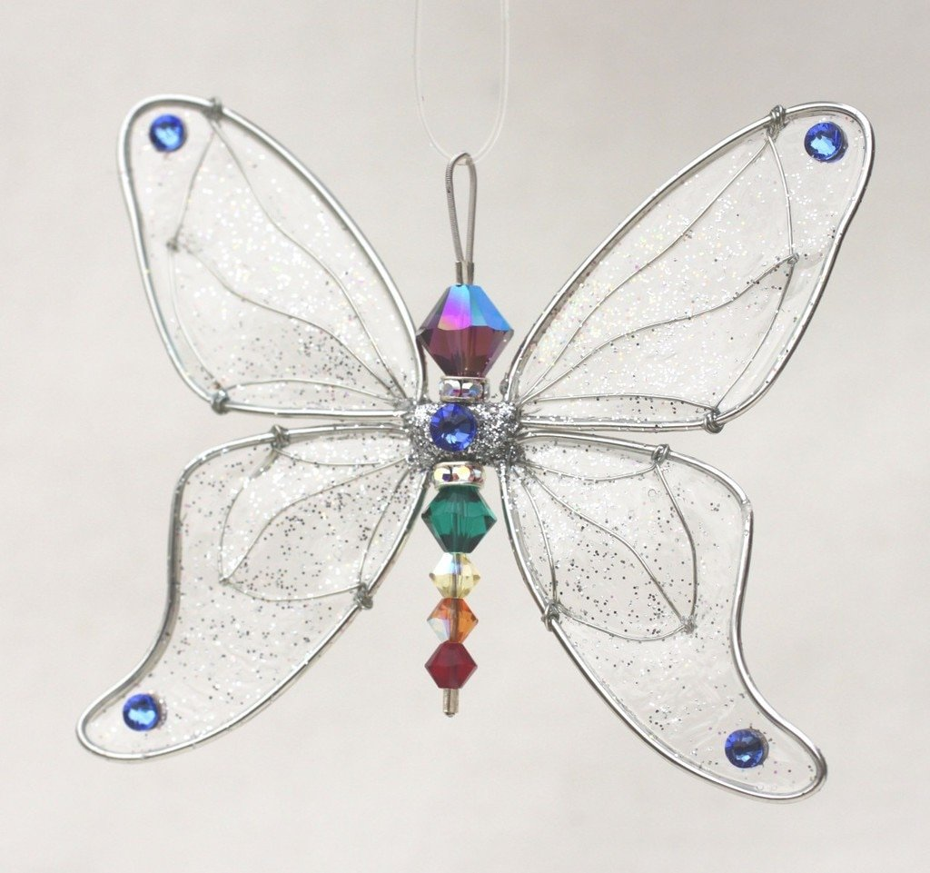 Butterfly Mobile Hangings Add Lightness And Spirit To Your Home