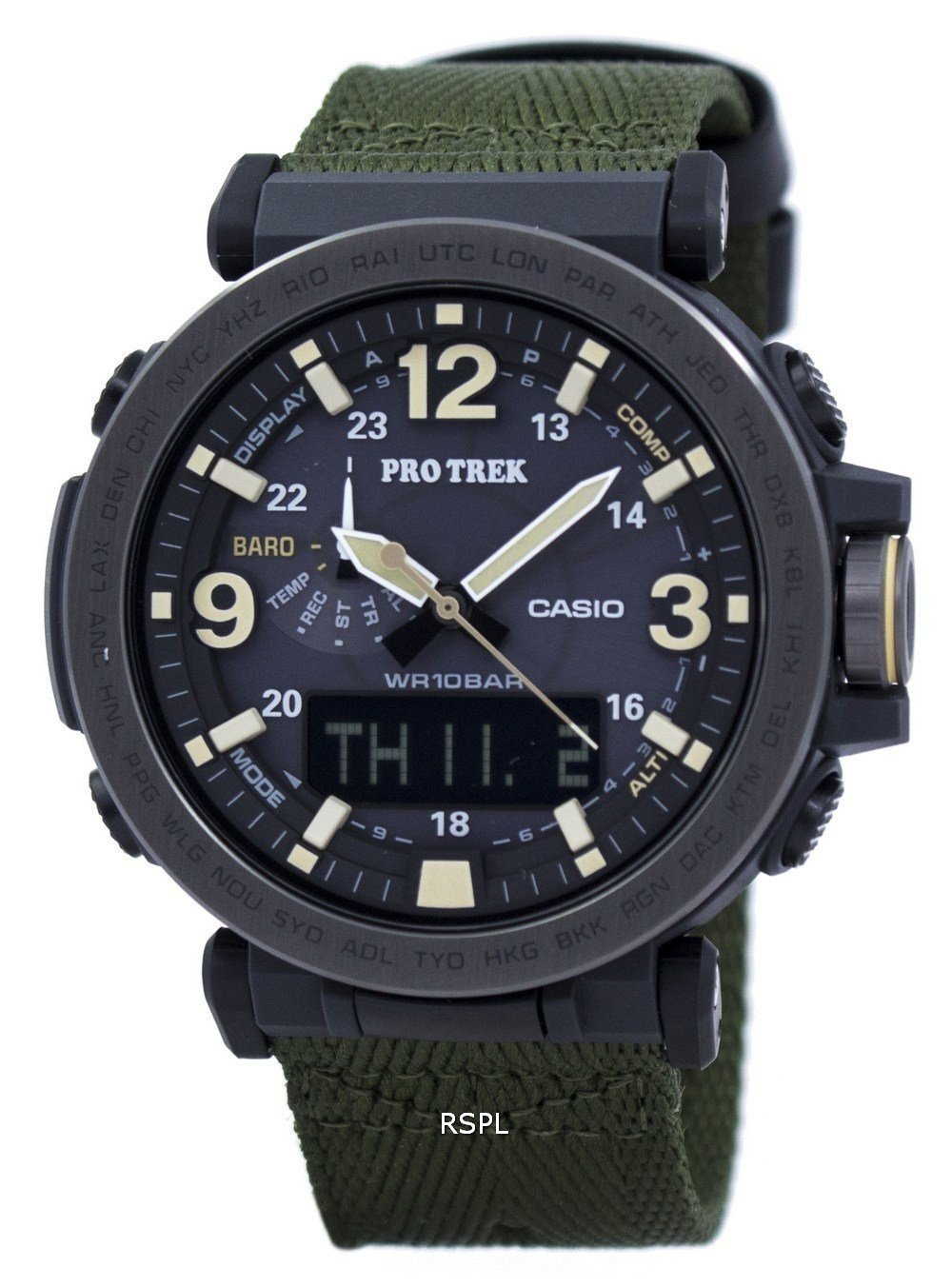 Casio Protrek Tough Solar Analog Digital PRG-600YB-3 Men's Watch