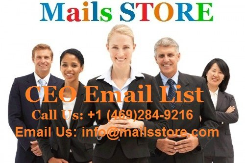 CEO Email List | Chief Executive Officers Mailing Lists & Email Addresses |Mails STORE