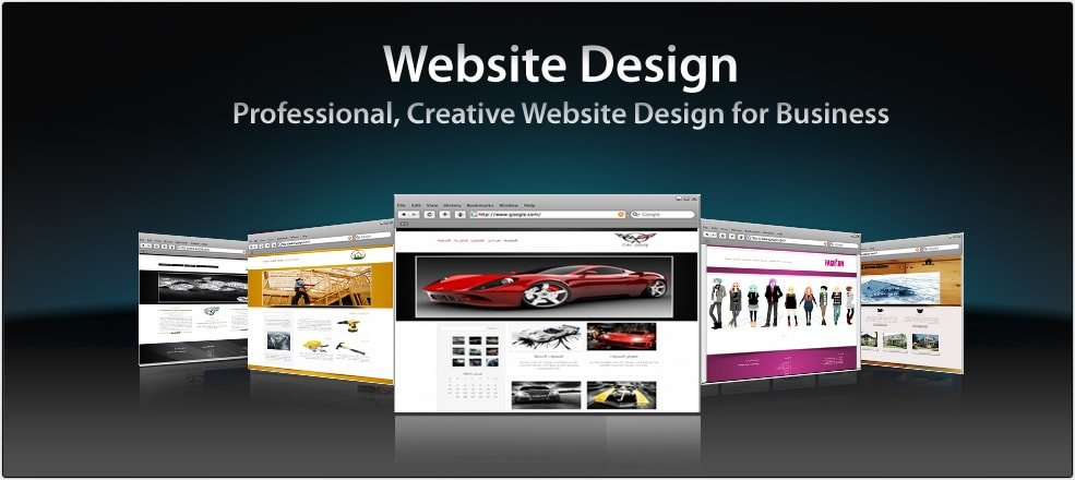 Development Of Individual Website Design Or Standard Template
