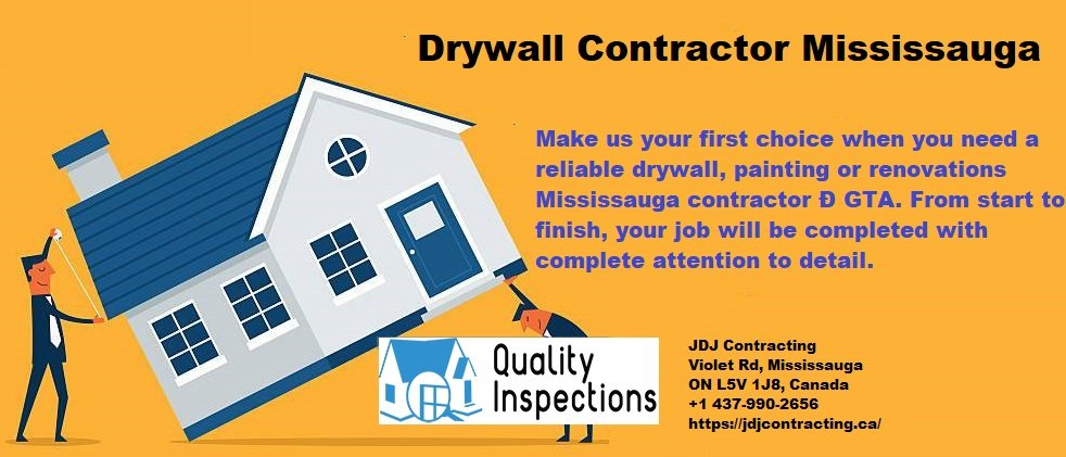 Drywall Contractor Mississauga - JDJ Contracting