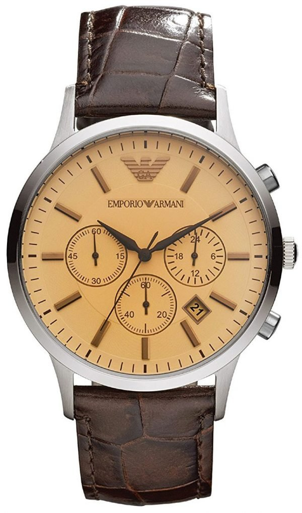 Emporio Armani Classic Chronograph Quartz AR2433 Men's Watch