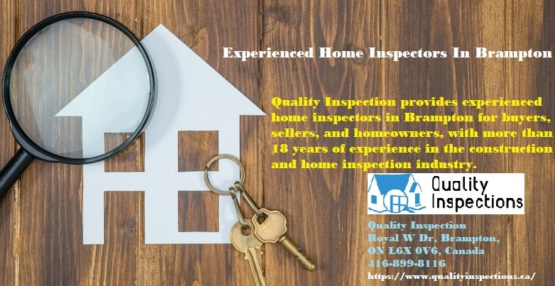 Experienced Home Inspectors In Brampton