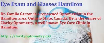 Eye Exam And Glasses Hamilton