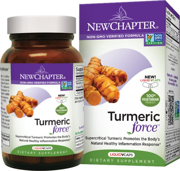 Get Rid Of Your Inflammation With New Chapter Turmeric Force!