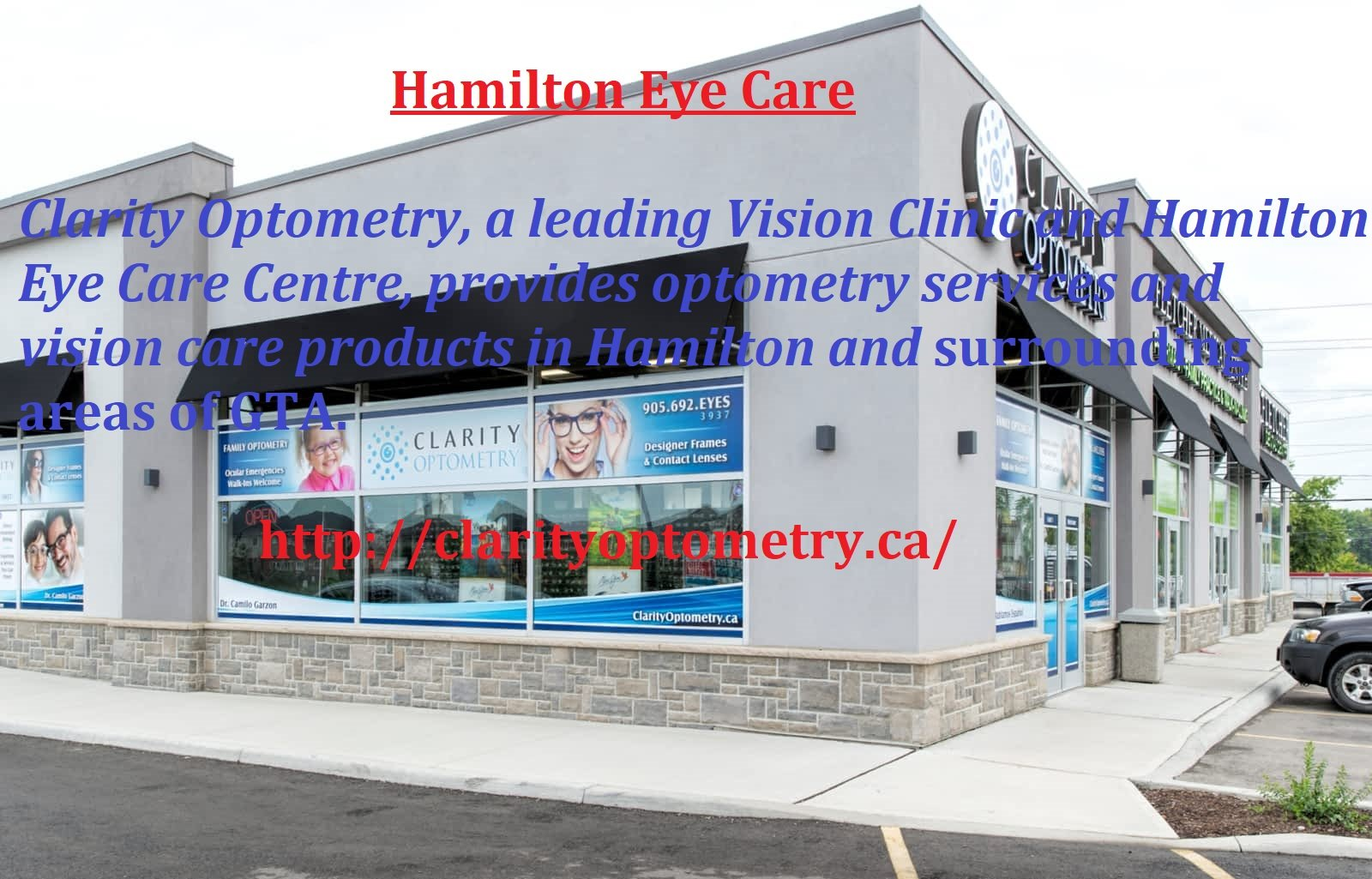 Hamilton Eye Care Clinics - The Complete Eye Solution