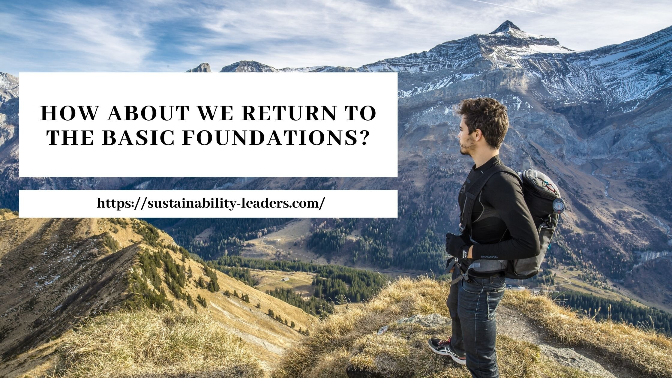 How About We Return To The Basic Foundations?