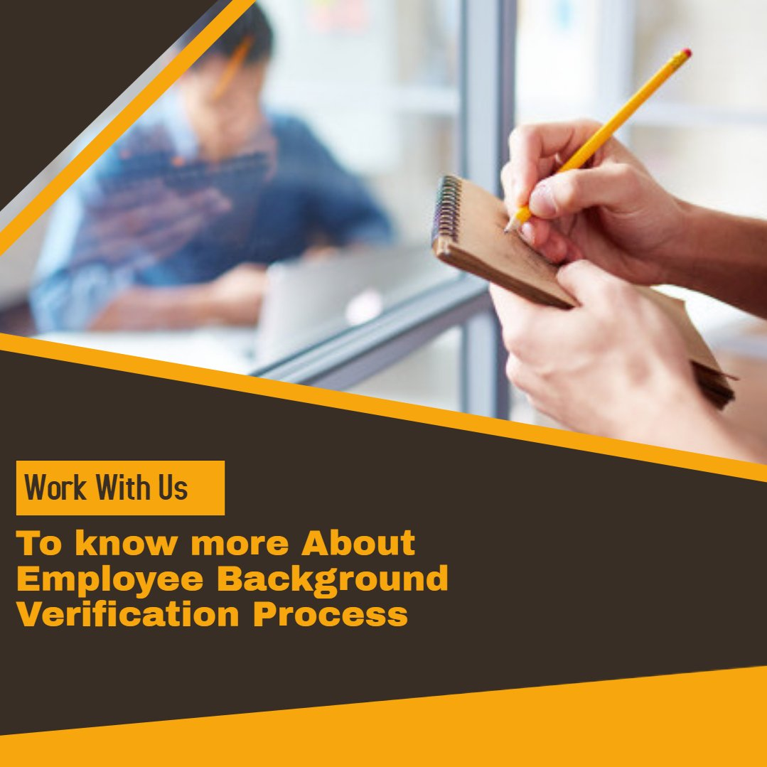 How An Employee Background Verification Works?
