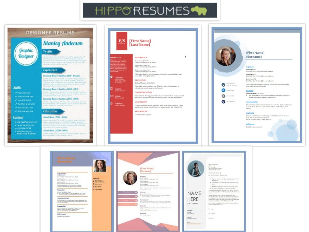 How To Choose Right Free Resume Templates Microsoft Word