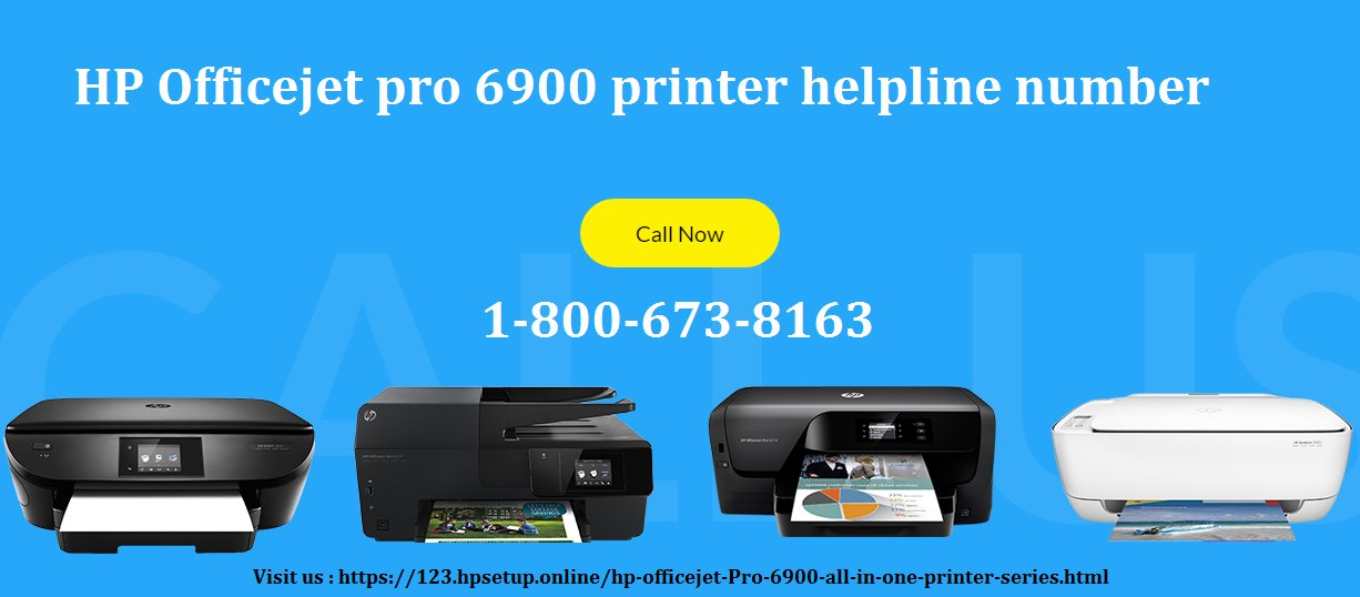 HP Officejet Pro 6900 Printer Drivers & Software Download