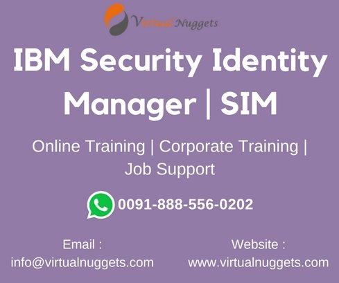 IBM Security Identity Manager Training
