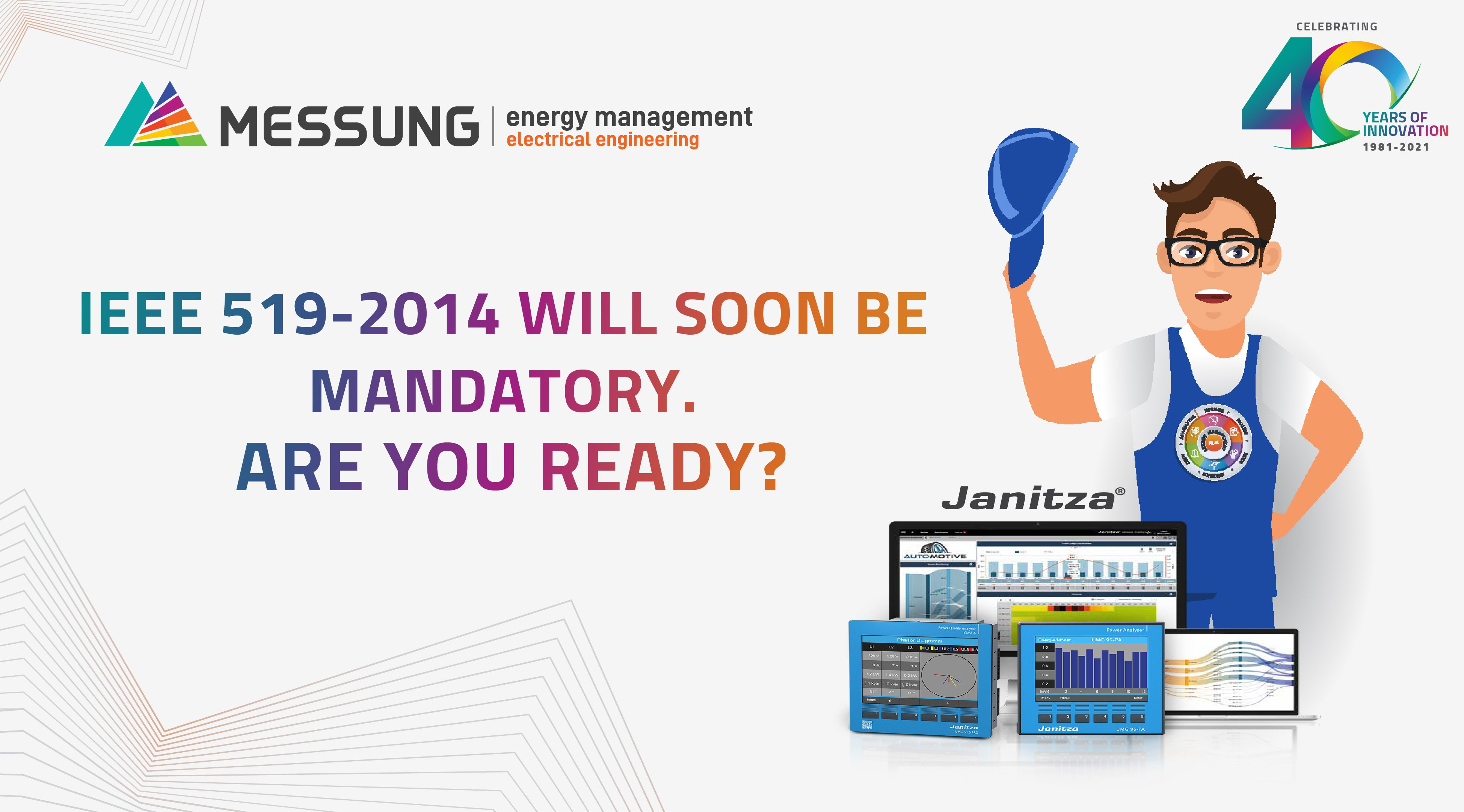 IEEE 519-2014 WILL SOON BE MANDATORY.ARE YOU READY?