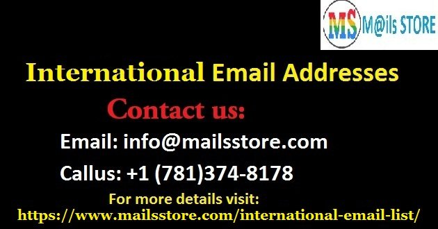 International Email List | International Mailing Addresses Database