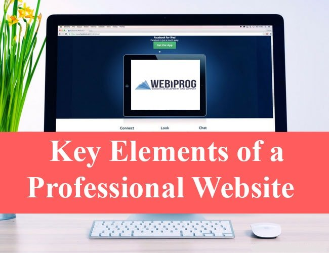 Key Elements Of A Professional Website