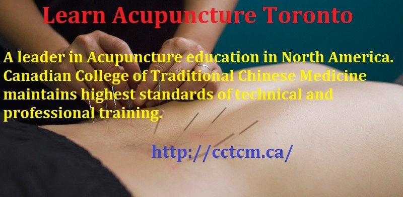 Learn Acupuncture Toronto