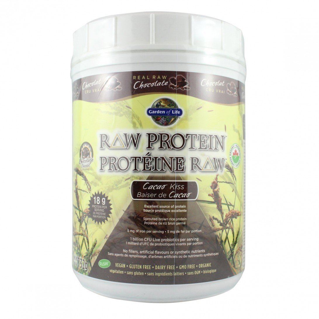 Life Support Protein Supplement (Raw Garden Of Life Proteins)
