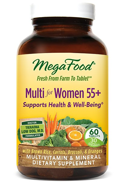 Megafood Women Over 55: Supports Nutritional Needs; Helps Maintain Healthy Bones; Promotes Healthy Aging And Longevity