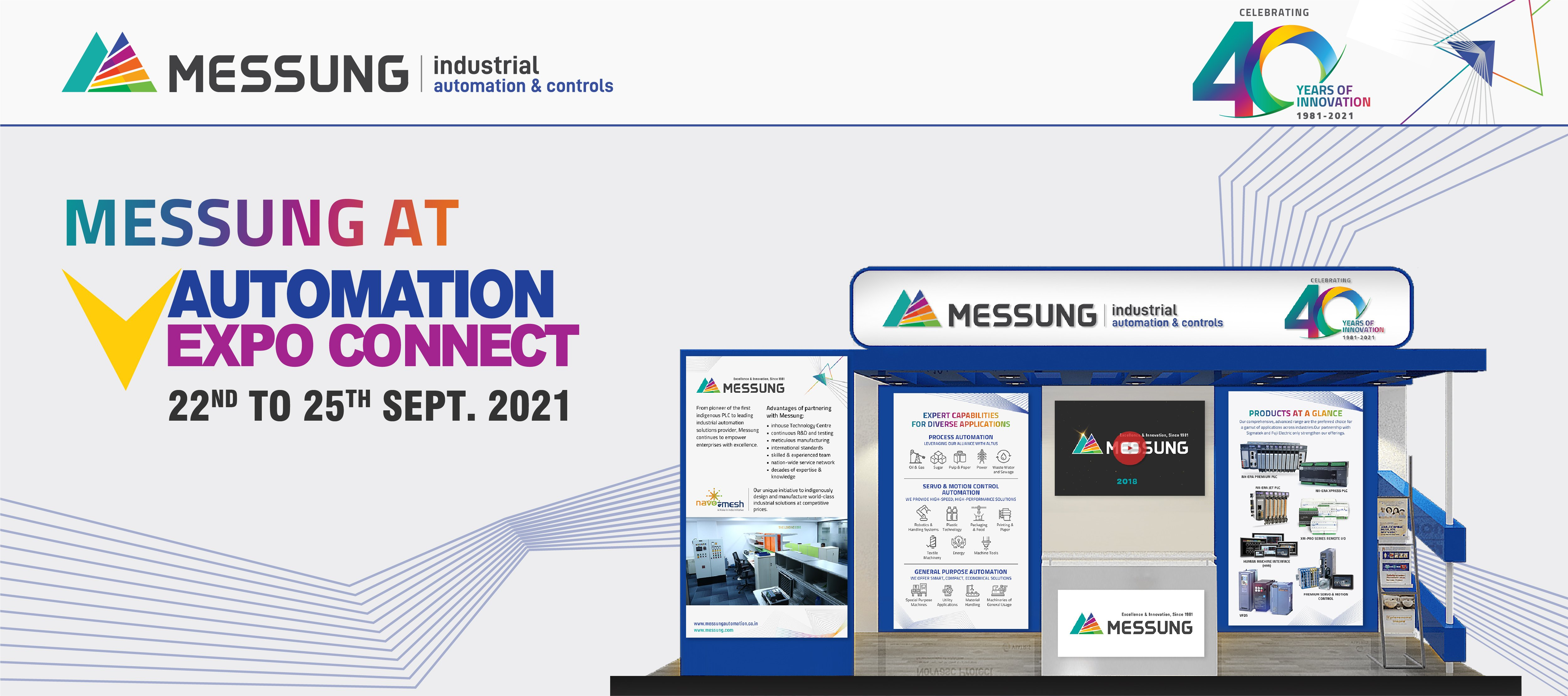 MESSUNG AT AUTOMATION EXPO CONNECT 2021