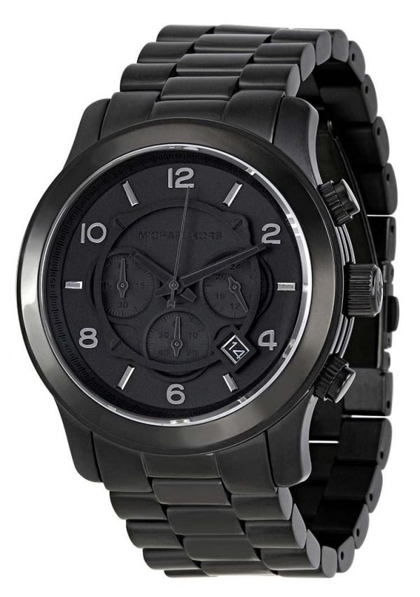 Michael Kors Blacked Out Runway Chronograph MK8157 Men's Watch