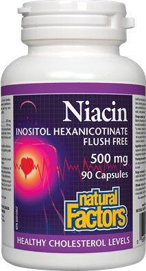 Natural Factors Releases First Niacin Supplement That Eliminates Niacin Flush