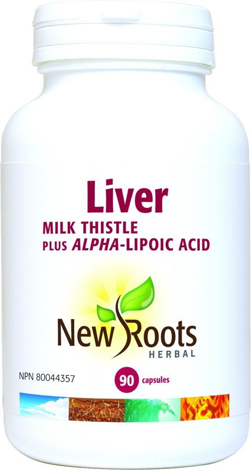 New Roots Liver Milk Thistle Treats Liver Disease Naturally