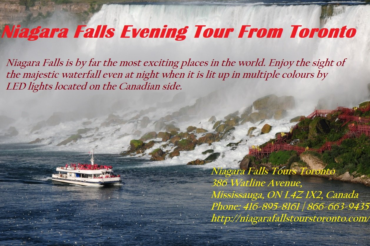 Niagara Falls Evening Tour From Toronto