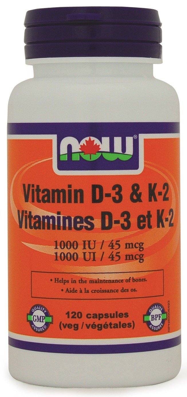 NOW Foods Vitamin D3 Helps Build Strong Bones And Balance Brain Chemistry