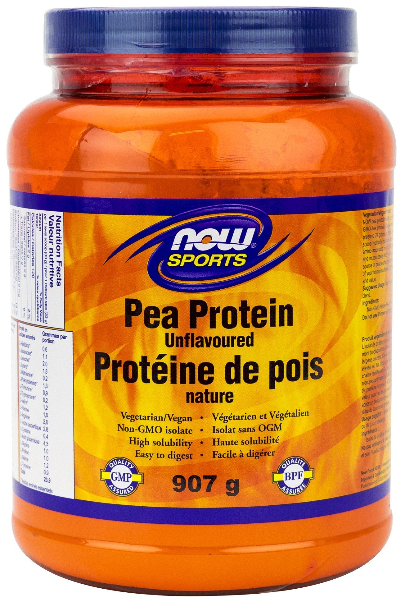 Pea Protein Powder Provides Alternative Protein Source