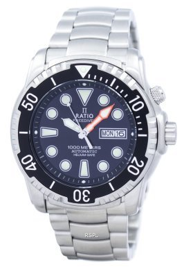 Ratio II Free Diver Helium-Safe 1000M Automatic 1068HA96-34VA-00 Men's Watch