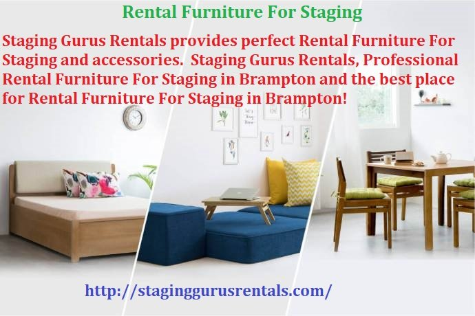 Rental Furniture For Staging