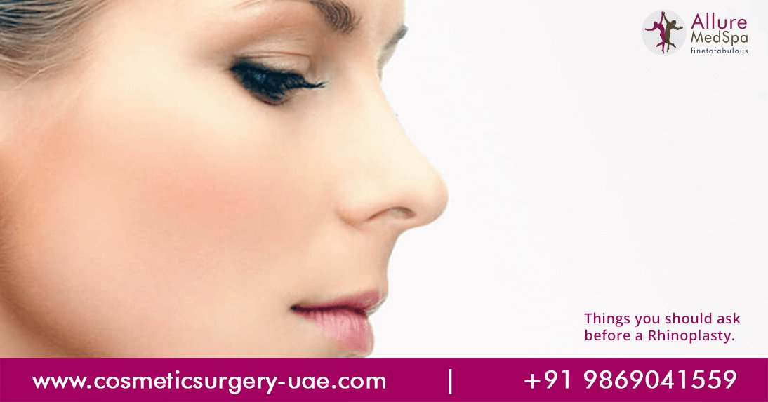 Rhinoplasty Question You Need To Ask