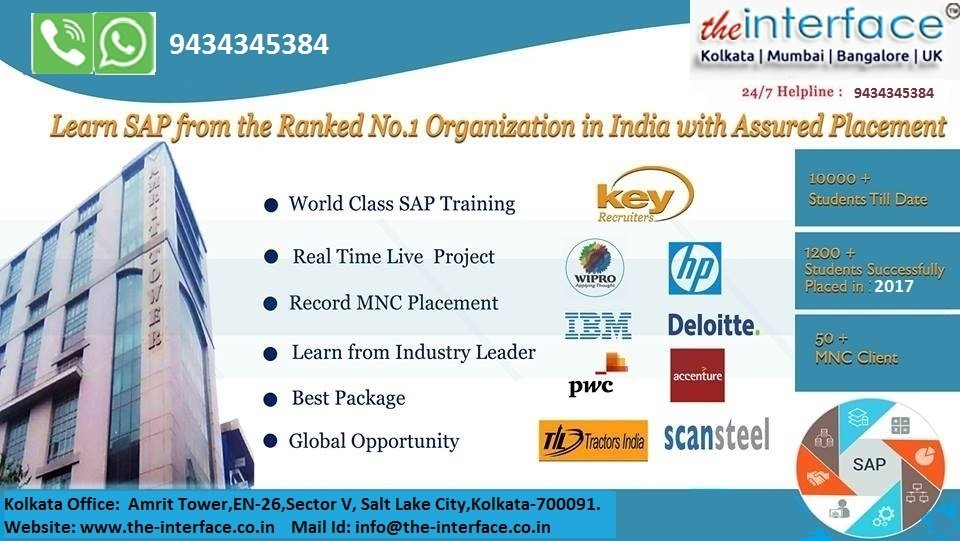 SAP Training Kolkata
