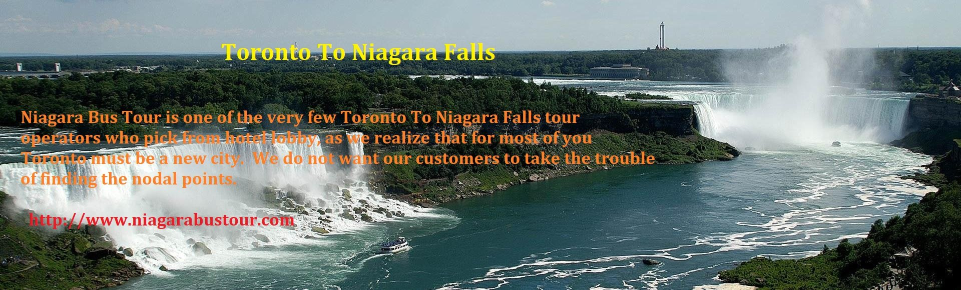Seven Places That You Can Visit During Toronto To Niagara Falls Tour