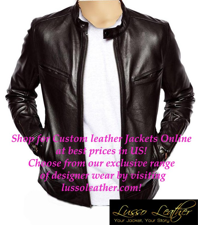 Shearling Jacket Men's