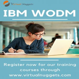 Live IBM WODM Online Training | VirtualNuggets