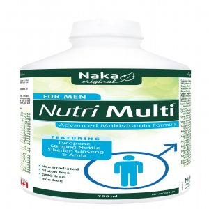 Men Can Get Their Best Nutritional Supplement With Naka Nutri Multi For Men