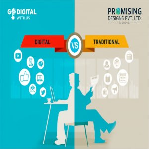 To Digital Or To Traditional? That Is The Question!  - Digital Vs. Traditional Advertising