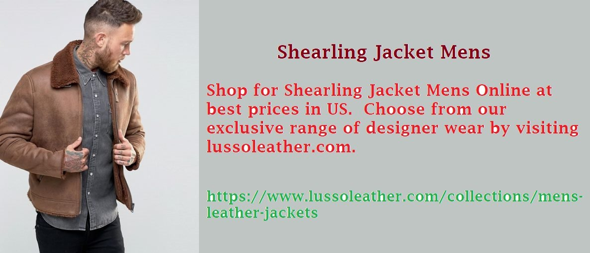 Stay Warm This Winter In A Shearling Jacket